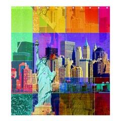 New York City The Statue Of Liberty Shower Curtain 66  X 72  (large)