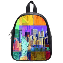 New York City The Statue Of Liberty School Bags (small)