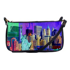 New York City The Statue Of Liberty Shoulder Clutch Bags