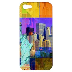 New York City The Statue Of Liberty Apple Iphone 5 Hardshell Case