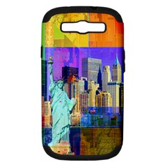 New York City The Statue Of Liberty Samsung Galaxy S Iii Hardshell Case (pc+silicone)