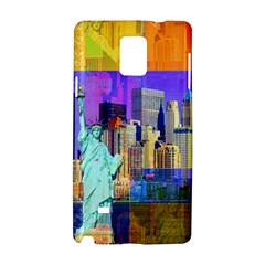 New York City The Statue Of Liberty Samsung Galaxy Note 4 Hardshell Case