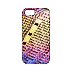 Optics Electronics Machine Technology Circuit Electronic Computer Technics Detail Psychedelic Abstra Apple Iphone 5 Classic Hardshell Case (pc+silicone)