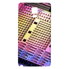 Optics Electronics Machine Technology Circuit Electronic Computer Technics Detail Psychedelic Abstra Galaxy Note 4 Back Case