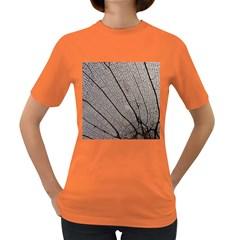 Sea Fan Coral Intricate Patterns Women s Dark T Shirt