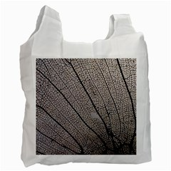 Sea Fan Coral Intricate Patterns Recycle Bag (two Side)
