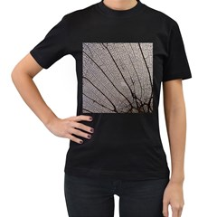 Sea Fan Coral Intricate Patterns Women s T Shirt (black)