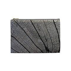 Sea Fan Coral Intricate Patterns Cosmetic Bag (medium)