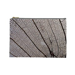 Sea Fan Coral Intricate Patterns Cosmetic Bag (large)