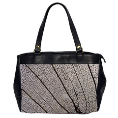 Sea Fan Coral Intricate Patterns Office Handbags (2 Sides)