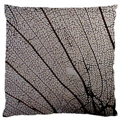 Sea Fan Coral Intricate Patterns Large Cushion Case (one Side)