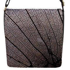 Sea Fan Coral Intricate Patterns Flap Messenger Bag (s)