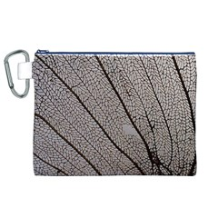 Sea Fan Coral Intricate Patterns Canvas Cosmetic Bag (xl)