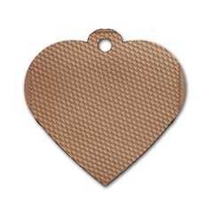 Tooling Patterns Dog Tag Heart (one Side)
