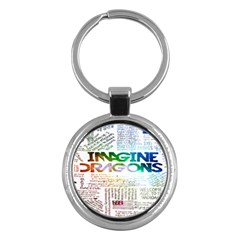 Imagine Dragons Quotes Key Chains (round)
