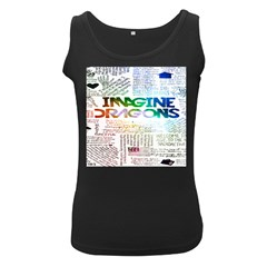 Imagine Dragons Quotes Women s Black Tank Top