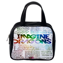 Imagine Dragons Quotes Classic Handbags (one Side)
