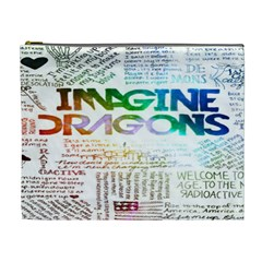 Imagine Dragons Quotes Cosmetic Bag (xl)