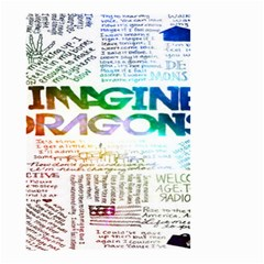 Imagine Dragons Quotes Small Garden Flag (two Sides)