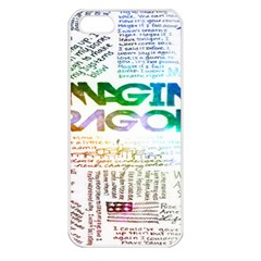 Imagine Dragons Quotes Apple Iphone 5 Seamless Case (white)