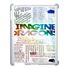 Imagine Dragons Quotes Apple Ipad 3/4 Case (white)