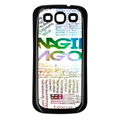 Imagine Dragons Quotes Samsung Galaxy S3 Back Case (black)