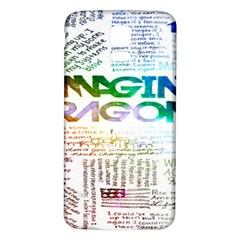 Imagine Dragons Quotes Samsung Galaxy S5 Back Case (white)