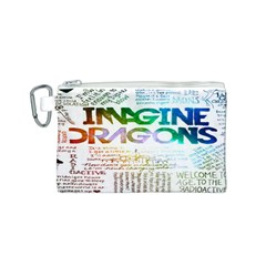 Imagine Dragons Quotes Canvas Cosmetic Bag (s)