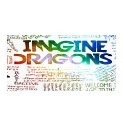 Imagine Dragons Quotes Satin Wrap