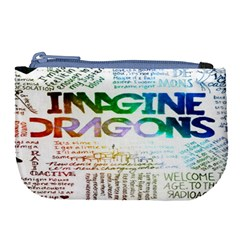 Imagine Dragons Quotes Large Coin Purse