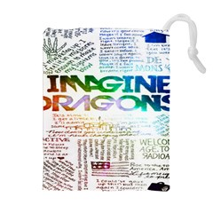 Imagine Dragons Quotes Drawstring Pouches (extra Large)