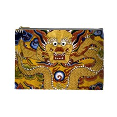Chinese Dragon Pattern Cosmetic Bag (large)