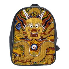 Chinese Dragon Pattern School Bags(large)