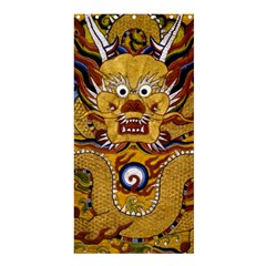 Chinese Dragon Pattern Shower Curtain 36  X 72  (stall)