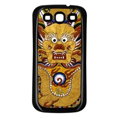 Chinese Dragon Pattern Samsung Galaxy S3 Back Case (black)