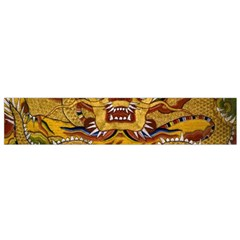 Chinese Dragon Pattern Flano Scarf (small)