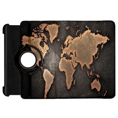 Grunge Map Of Earth Kindle Fire Hd 7