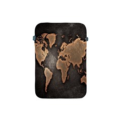 Grunge Map Of Earth Apple Ipad Mini Protective Soft Cases
