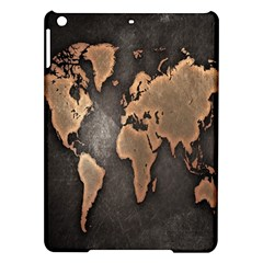 Grunge Map Of Earth Ipad Air Hardshell Cases