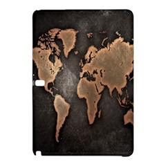 Grunge Map Of Earth Samsung Galaxy Tab Pro 10 1 Hardshell Case