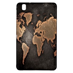 Grunge Map Of Earth Samsung Galaxy Tab Pro 8 4 Hardshell Case