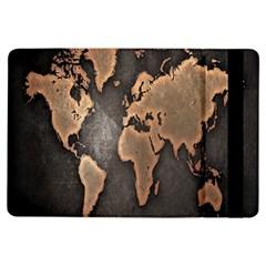 Grunge Map Of Earth Ipad Air Flip