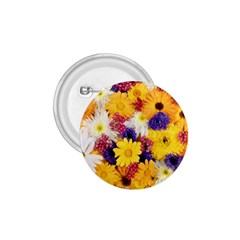 Colorful Flowers Pattern 1 75  Buttons