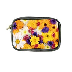 Colorful Flowers Pattern Coin Purse