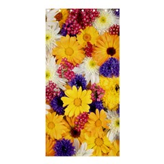 Colorful Flowers Pattern Shower Curtain 36  X 72  (stall)