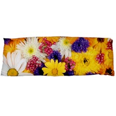 Colorful Flowers Pattern Body Pillow Case Dakimakura (two Sides)