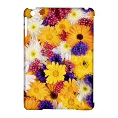 Colorful Flowers Pattern Apple Ipad Mini Hardshell Case (compatible With Smart Cover)