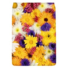 Colorful Flowers Pattern Flap Covers (s)