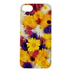 Colorful Flowers Pattern Apple Iphone 5s/ Se Hardshell Case
