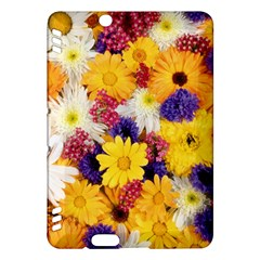 Colorful Flowers Pattern Kindle Fire Hdx Hardshell Case